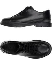 Camper Lace-up Shoe - Black