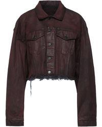 Marcelo Burlon Denim Outerwear - Brown