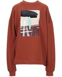 Plan C Sweat-shirt - Rouge