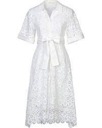 Maje Vestito longuette - Bianco