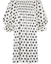 Sleeper Robe midi - Blanc