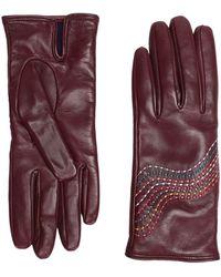Paul Smith Gloves - Purple
