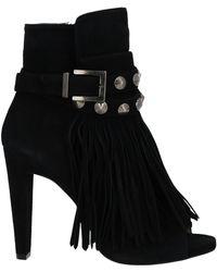 Pura López Ankle Boots - Black