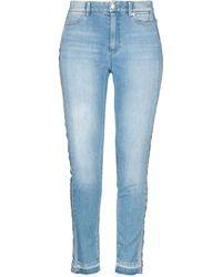 Marc Cain Denim Trousers - Blue