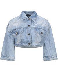 Annarita N. - Capospalla jeans - Lyst
