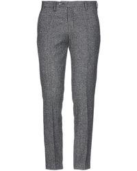 Michael Coal Casual Trousers - Gray