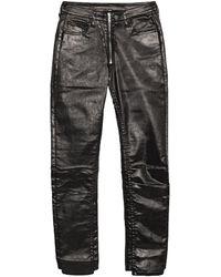 Marcelo Burlon Denim Trousers - Black