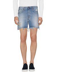 People (+) People Denim Shorts - Blue