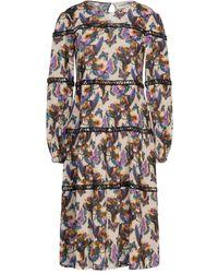 Shirtaporter Vestido midi - Multicolor