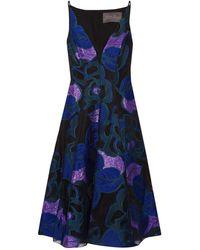 Lela Rose - Knee-length Dress - Lyst