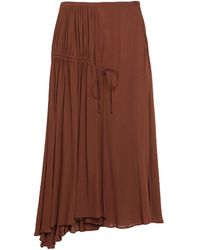 N°21 Long Skirt - Brown