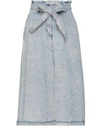 Manoush Denim Skirt - Blue