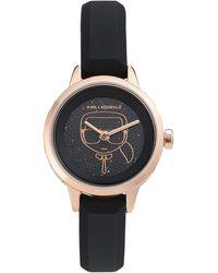 Karl Lagerfeld Wrist Watch - Black