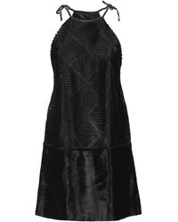 Plein Sud Short Dress - Black