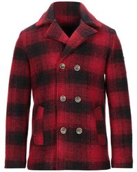AT.P.CO Coat - Red