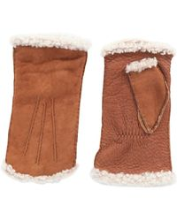 Agnelle Handschuhe - Braun