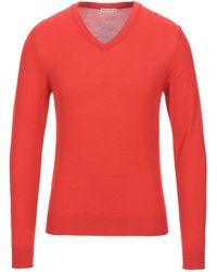 Brian Dales Pullover - Orange