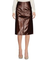 Jijil - 3/4 Length Skirt - Lyst
