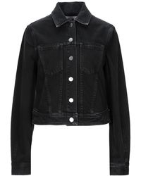 PROENZA SCHOULER WHITE LABEL Denim Outerwear - Black