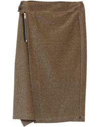 Maison Scotch Midi Skirt - Metallic