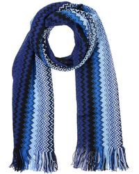 Missoni Oblong Scarf - Blue
