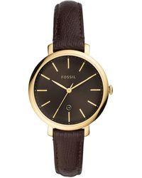 Fossil Wrist Watch - Metallic