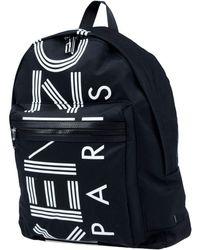 KENZO Logo nylon backpack - Noir
