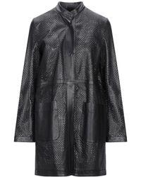 Unfleur Overcoat - Black