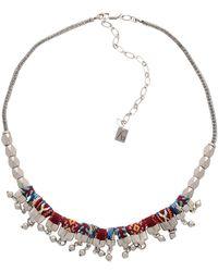 Ayala Bar Necklace - Metallic
