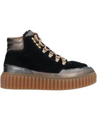 Voile Blanche Sneakers - Negro
