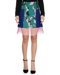Capara - Knee Length Skirt - Lyst