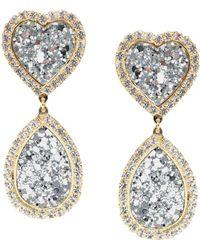 Shourouk Earrings - Metallic