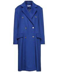 WEILI ZHENG Manteau long - Bleu
