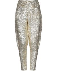 Acheval Pampa Casual Trousers - Metallic