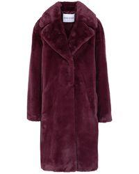 Stand Studio Teddy Coat - Red