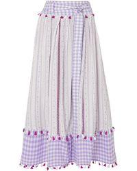 Dodo Bar Or 3/4 Length Skirt - Purple