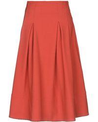Ballantyne Midi Skirt - Red
