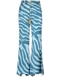 ..,merci Casual Trousers - Blue