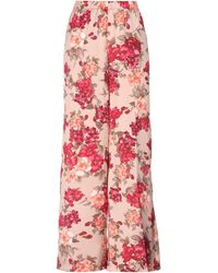 LE COEUR TWINSET Casual Pants - Pink