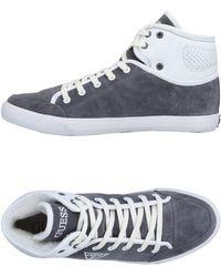 Guess High Sneakers & Tennisschuhe - Grau