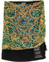 Versace Jeans Couture Jupe midi - Vert