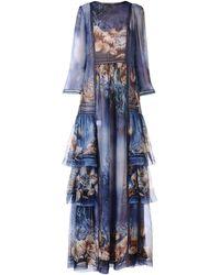Alberta Ferretti Long Dress - Blue