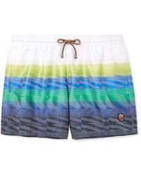 Missoni Swim Trunks - Blue