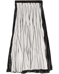 Aviu Long Skirt - Black