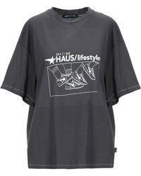 Haus By Golden Goose Deluxe Brand T-shirt - Grey
