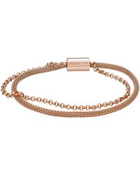 Fossil Bracelet - Metallic