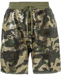 R13 Shorts & Bermuda Shorts - Green