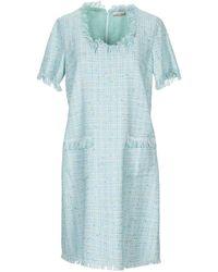 ALTEЯƎGO Short Dress - Blue