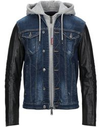 DSquared² Denim Outerwear - Blue