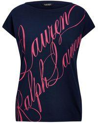 Lauren by Ralph Lauren T-shirt - Blue